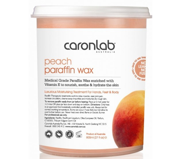 Caronlab Paraffin Wax Peach 800ml