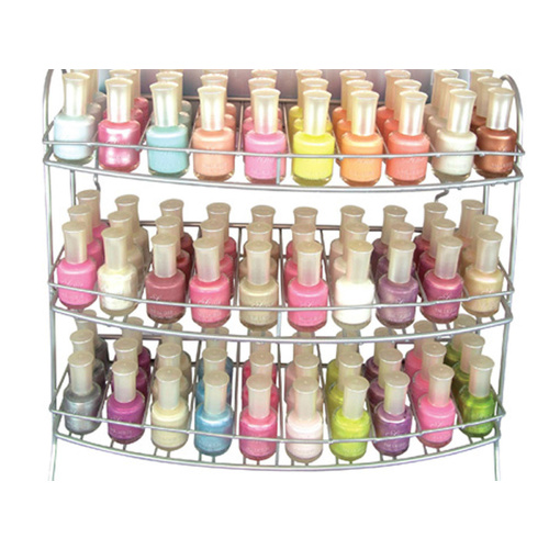 Wall Mountable Nail Polish Gallery Rack