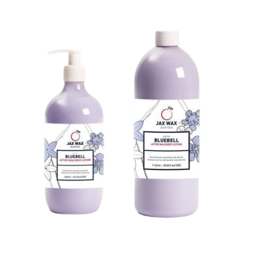 Jax Wax Alpine Bluebell Lotions - (250 ml or 500ml)