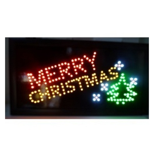 Merry Christmas - LED Sign