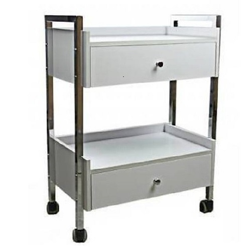 2 Drawer Professional Trolley