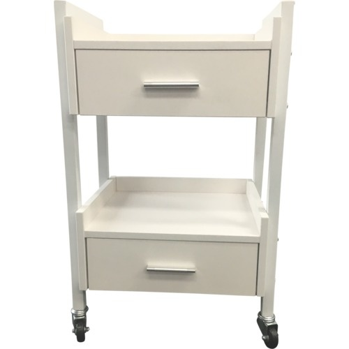 Trolley 2 Drawer Professional - White
